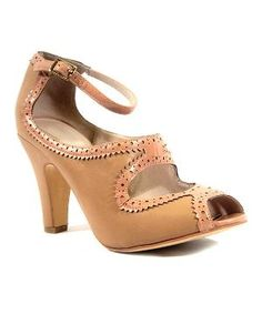 Nude & Pink Escada Pump $24.99 by laurel