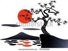 Japan Scenery Stock Vectors & Vector Clip Art | Shutterstock