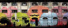 Europa: Os 10 bairros mais 'cool' da Europa   El Viajero   EL PAÍS Brasil Obra do grafiteiro Blu na rua do Porto Fluviale, no bairro romano de Ostiense. / GIUSEPPE PINO