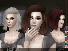 My Sims 4 Blog: Stealthic High Life Hair for Females