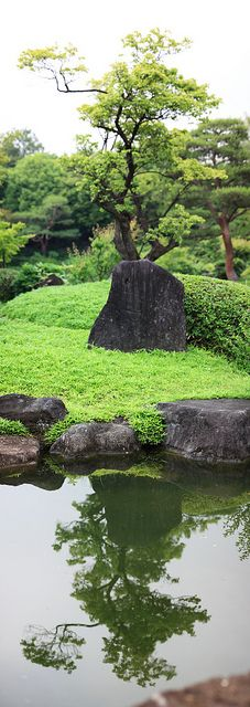 our volcanic rocks - japanese garden, Gunma, Japan