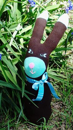 Sock Bunny! I'm a Bunny fool :) Cute for Easter for the kiddos in my life though!