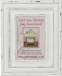 Yay, website launched :o) www.ainttooshabby.co.uk