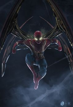 Amazing Iron Spider suit - Fan art ☆Marvel is Life :) ☆