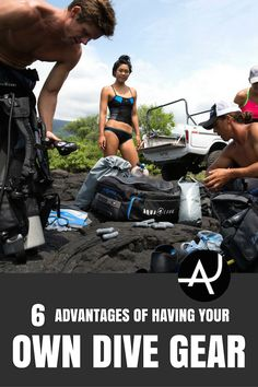 These 6 Advantages of owning your own set of scuba gear are helpful information to help one get into scuba diving easily and affordably.