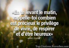 la vie est précieuse !!! #citation #citations #citation #proverbe #proverbes #demain #hier #apprendre #vivre #sublime #amour #matin #heureux #précieux #vie
