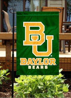 Baylor University Bears Garden Flag