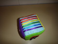 El taller de Naidú: Cubo de texturas.