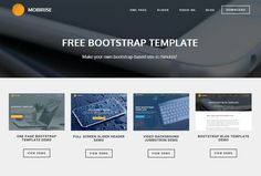 Make your own bootstrap-based site in minutes!  https://mobirise.com/bootstrap-template/