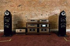 B & W 802d 3 and a full Accuphase setup