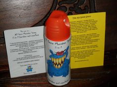 All Gone Monster Spray 2in1 Banisher and Repellent  Peel by Bon702, $7.00
