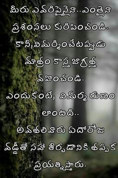 Life Quotes Pictures, Real Life Quotes, Motivational Quotes For Life, Picture Quotes, Positive Quotes, Best Quotes, Love Quotes In Telugu, Telugu Inspirational Quotes, Love Letters Quotes