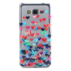 USD $ 3.99 - Love Pattern 5 Inch TPU Soft Case Back Cover for Samsung Galaxy Grand Prime G530