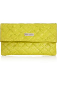 Eugenie large quilted leather clutch= LOVE