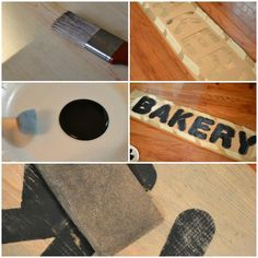 How To Create Vintage Signs Using Homemade Stain This Only Cost