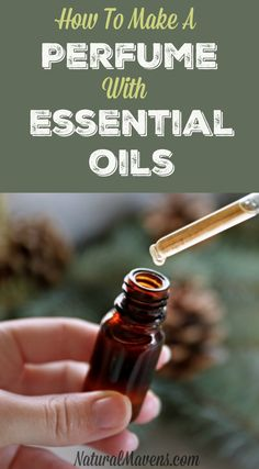 Discover how to make a perfume with essential oils. There's a little more to it than a few drops in a bottle. Click for this simple guide.