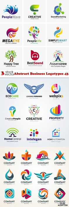 Vectors - Abstract Business Logotypes 43