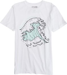 Roark No Mistaking It short sleeve wave tee. http://www.swell.com/New-Arrivals-Mens/ROARK-NO-MISTAKING-IT-SS-TEE?cs=WH