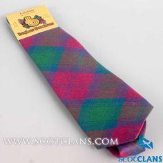Lindsay Ancient Tartan Tie
