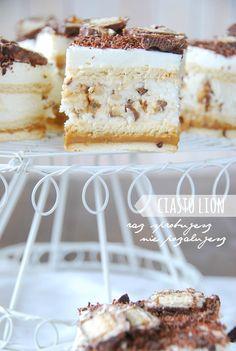 ciasto lion Krispie Treats, Rice Krispies, Vanilla Cake, Lion, Sweets, Baking, Food Ideas, Cakes, Leo
