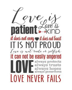 Love Is Patient Quote Love Is Patient Love Is Kind  Such A Pretty Quote Feelings