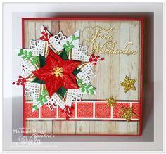 Nelasbasteleien: Poinsettia - Weihnachtsstern