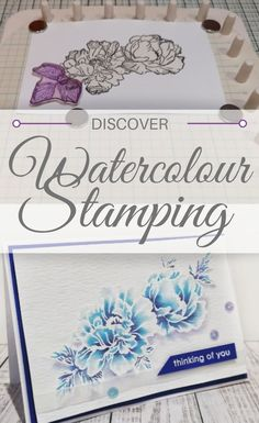 If you're looking for a new and interesting way to jazz up your stamping techniques then look no further – give watercolour stamping a go! Achieve stunning graduated effects, multi-coloured designs and show-stopping finishes using this fantastic stamping technique. Never tried watercolour stamping before? Fear not! Hannah Oxberry explains all in her beautiful step-by-step tutorial right here.
