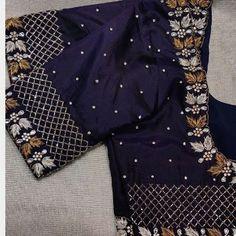 Cutwork Blouse Designs, Simple Blouse Designs, Stylish Blouse Design, Blouse Neck Designs, Sari Blouse, Traditional Blouse Designs, Hand Work Blouse Design, Designer Blouse Patterns, Unique