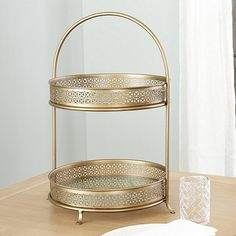 Valencia Metal Tiered Stand