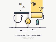 HOT TOPIC ALERT! I lost count of people that ask me how I colour my icons, and what's the best and easiest technique. Truth is, there are tons of ways to do this, but tomorrow I'm going to reveal m...