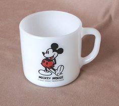 Disney Coffee Mug Cup Vintage 70's with by momodeluxevintage, $9.00