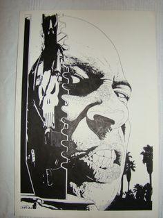 For sale - Tim Bradstreet - Punisher (4th series) cover nr.32  Comic Art