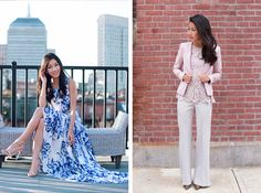 feminine spring fashion for work & weekends (via extra petite)
