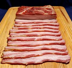 Create your own bacon. At home. No, really...for the bacon lovers who want bacon without nitrates,,you can chose a recipe..make your own