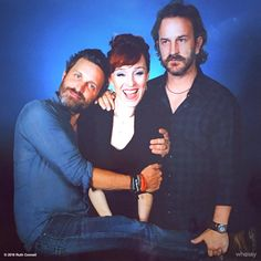 """Ruth Connell ♕ on Twitter: """"Clearly thrilled senseless with my @KingsOfCon…  #RobBenedict """"#GrumpyGus"""" #RichardSpeightJr Richard Speight, Jr. @dicksp8jr  Aug 18 Richard Speight, Jr. Retweeted Rob Benedict """"I paid good money for that Ruth photo op! Then you crash it and get all the ❤️. I'm not grumpy, I'm pissed!"""""""
