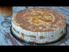 Nepečená torta z kyslej smotany a Salka na spôsob Tiramisu: Najlepší krémový dezert s chuťou kávy, aký ochutnáte! Tiramisu Dessert, Pastry Cake, No Bake Desserts, No Bake Cake, Holiday Recipes, Tart, Cheesecake, Deserts, Food And Drink