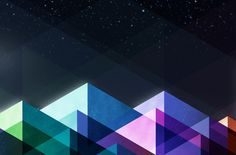 Love colors and geometric shapes.