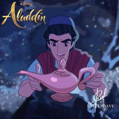 Aladdin and the Magic Lamp from Disney's live action movie Aladdin Disney Live, Disney Dream, Disney Magic, Walt Disney, Aladdin Art, Aladdin Live, Watch Aladdin, Disney Princess Tiana, Princess Aurora