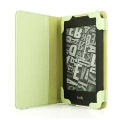"""GREEN mCover Leather Folio Cover Case with built-in inner pocket for 6"""" Amazon Kindle Touch & Kindle Paperwhite, with FREE High-Quality Stylus by mCover. $9.99. Buy with peace of mind from a """"A""""-rating BBB Accredited business with 30-day 100% MONEY-BACK Guarantee! Please note this case works ONLY with Kindle Touch (6"""" E-ink TouchScreen, WIFI) and 6"""" Kindle Paperwhite (released in Oct. 2012).   Does NOT work with 1st, 2nd, 3rd (Kindle Keyboard) and 4th Generation ..."""