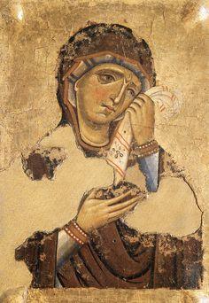 it sancolombano files giunta_assisi_madonna_ridotto. Byzantine Icons, Byzantine Art, Ancient Greek Sculpture, Ancient Art, Religious Icons, Religious Art, Medieval Art, Renaissance Art, Madonna