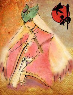 Okami: Waka of the Moon tribe by ~tepaipascual on deviantART