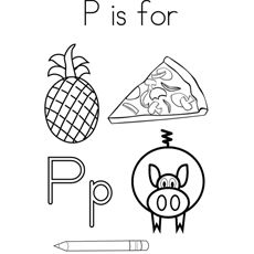 whole alphabet coloring pages - photo#17