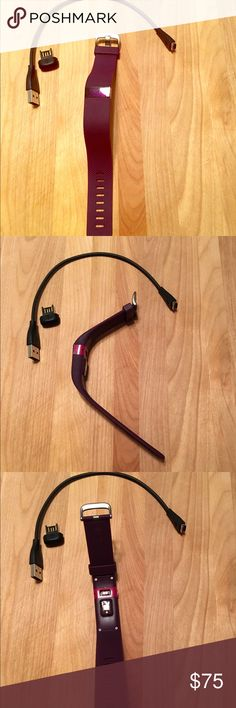 Fitbit Charge HR Small purple Fitbit Charge HR. 1 year old, used, good shape! Fitbit Other