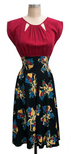 The Trashy Diva Jaclyn Dress in Big Band Bows!
