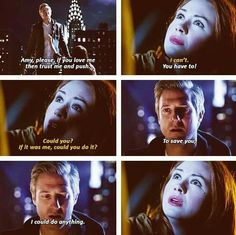 """Doctor Who """" The Angels take Manhattan """" ( 7x05 ) - Amy and Rory"""