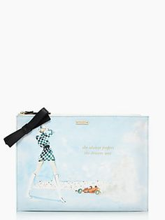 """new Kate Spade-Monaco collection. """"She always prefers the drivers seat."""" My new envelope bag! Clutch Purse, Purse Wallet, Pouch, Girls Night Out Outfits, Kate Spade Clutch, Smooth Leather, Designing Women, Designer Sale, Tote Bag"""