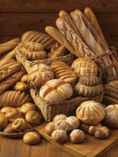 Yum bread,bread and more bread. So Delicious.