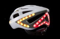 Lumos White helmet turn signal