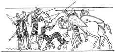 Bayeux Tapestry Coloring Pages Free