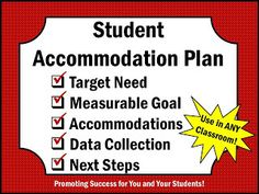 Promoting Success: Tuesday Tips - 20 ADHD Accommodations That Work
